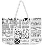 Manifesto - Weekender Tote Bag - Scottish Laird