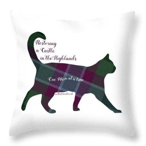One Meow at a Time - Throw Pillow