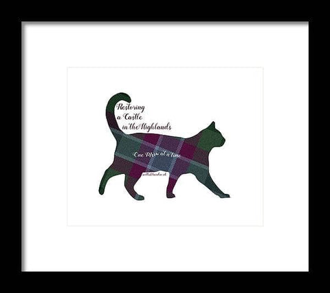 One Meow at a Time - Framed Print