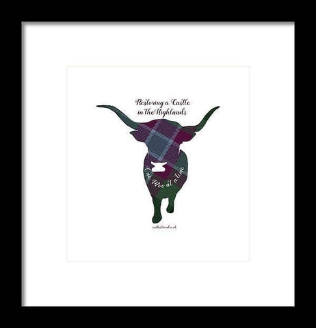 One Moo at a Time - Framed Print