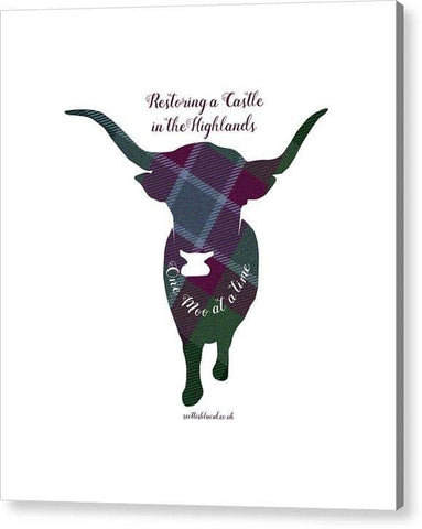 One Moo at a Time - Acrylic Print