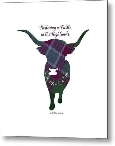 One Moo at a Time - Metal Print