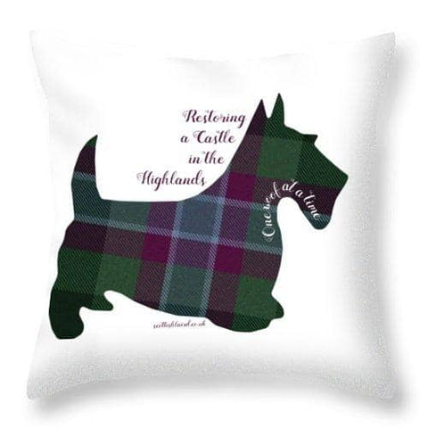One Woof at a Time - Throw Pillow