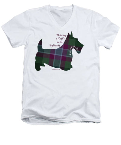 One Woof at a Time - Men's V-Neck T-Shirt
