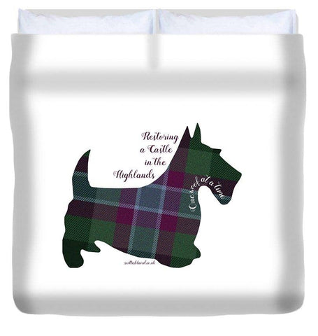 One Woof at a Time - Duvet Cover