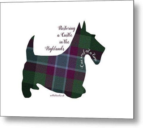 One Woof at a Time - Metal Print