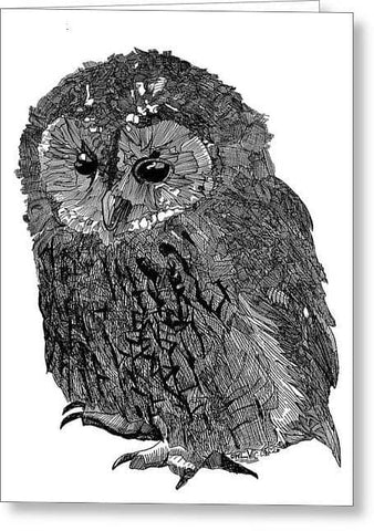 Owl Vic - Greeting Card