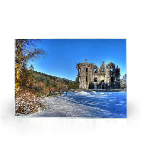 Castle in the Snow South Glass Cutting Boards
