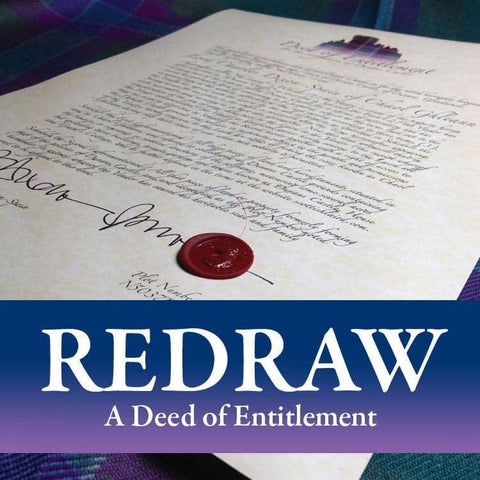 Replace or Redraw a Deed of Entitlement - Scottish Laird