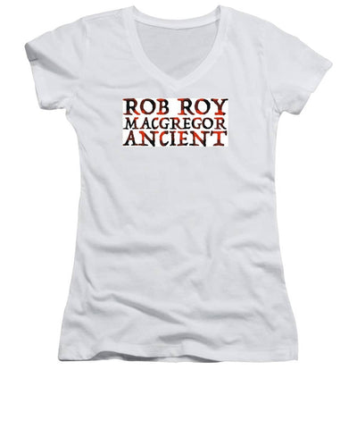 Rob Roy Macgregor Ancient - Women's V-Neck
