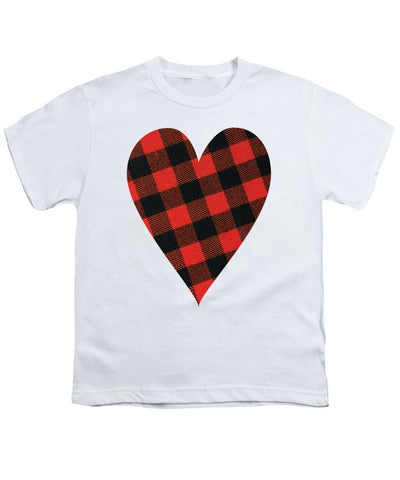 Rob Roy Macgregor Ancient Tartan Heart - Youth T-Shirt