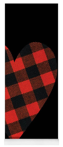 Rob Roy Macgregor Ancient Tartan Heart - Yoga Mat