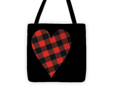 Rob Roy Macgregor Ancient Tartan Heart - Tote Bag