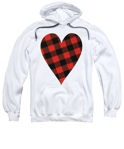 Rob Roy Macgregor Ancient Tartan Heart - Sweatshirt