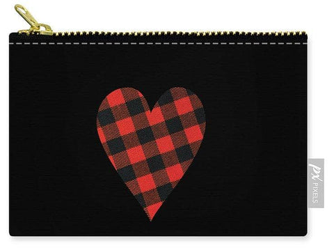 Rob Roy Macgregor Ancient Tartan Heart - Carry-All Pouch