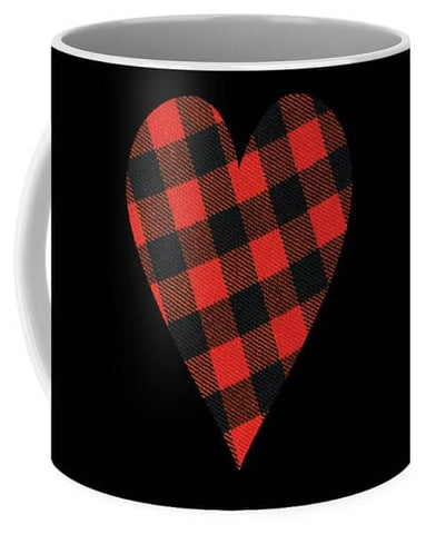 Rob Roy Macgregor Ancient Tartan Heart - Mug