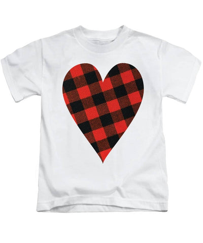 Rob Roy Macgregor Ancient Tartan Heart - Kids T-Shirt