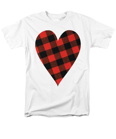 Rob Roy Macgregor Ancient Tartan Heart - Men's T-Shirt  (Regular Fit)
