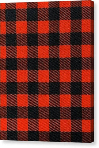 Rob Roy MacGregor Ancient Tartan Swatch - Canvas Print