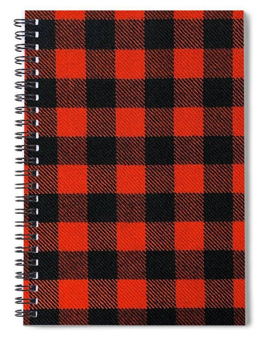Rob Roy MacGregor Ancient Tartan Swatch - Spiral Notebook