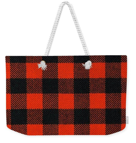 Rob Roy MacGregor Ancient Tartan Swatch - Weekender Tote Bag
