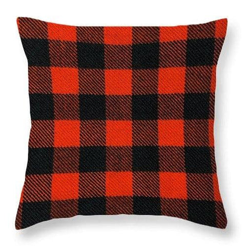 Rob Roy MacGregor Ancient Tartan Swatch - Throw Pillow
