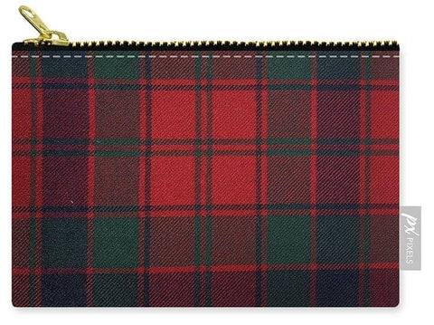 Robertson Red Modern Tartan - Carry-All Pouch