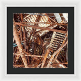 Rusty Radiators - Framed Print
