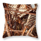 Rusty Radiators - Throw Pillow