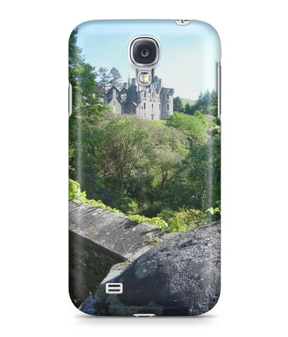 Samsung Galaxy S4 Full Wrap Case Dunans Castle in Spring - Scottish Laird