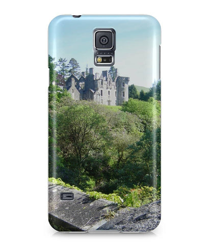 Samsung Galaxy S5 Full Wrap Case Dunans Castle in Spring - Scottish Laird