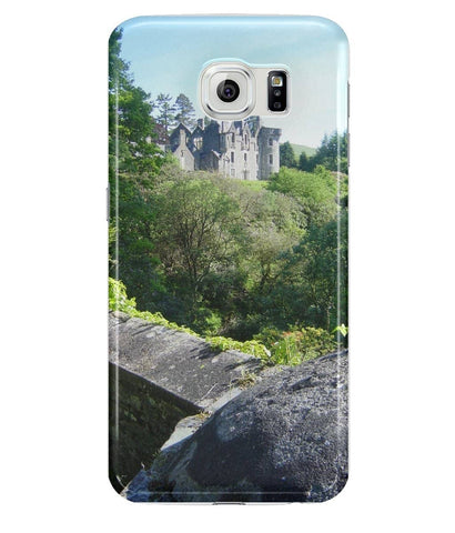 Samsung Galaxy S6 Full Wrap Case Dunans Castle in Spring - Scottish Laird