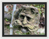 Speak The Gargoyle  - Framed Print