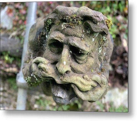 Speak The Gargoyle  - Metal Print