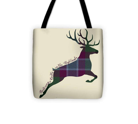 Stag Leaping - Tote Bag - Scottish Laird