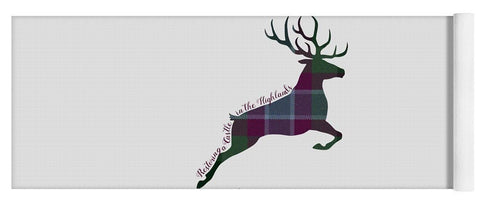 Stag Leaping - Yoga Mat - Scottish Laird