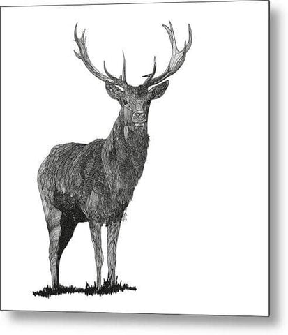 Stagger - Drawing 2 - Metal Print