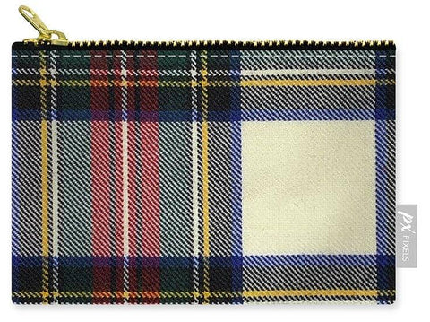 Stewart Dress Modern Tartan Swatch - Carry-All Pouch