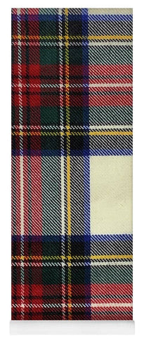 Stewart Dress Modern Tartan Swatch - Yoga Mat