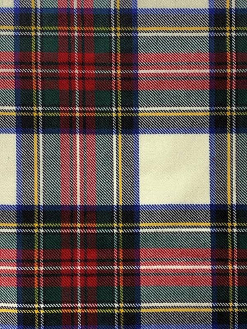 Stewart Dress Modern Tartan Swatch - Art Print