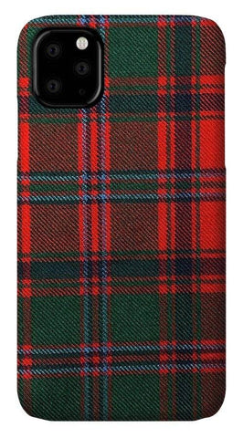 Stewart Of Appin Modern Tartan Swatch - Phone Case