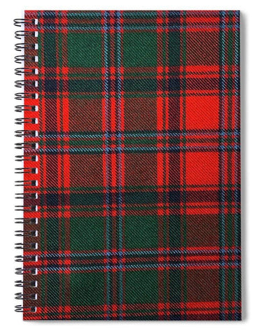 Stewart Of Appin Modern Tartan Swatch - Spiral Notebook