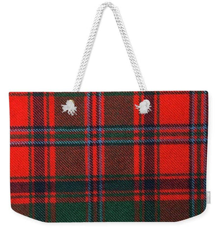 Stewart Of Appin Modern Tartan Swatch - Weekender Tote Bag