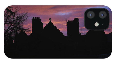 Sunset at the Castle - Phone Case