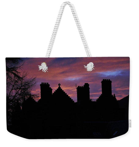 Sunset at the Castle - Weekender Tote Bag