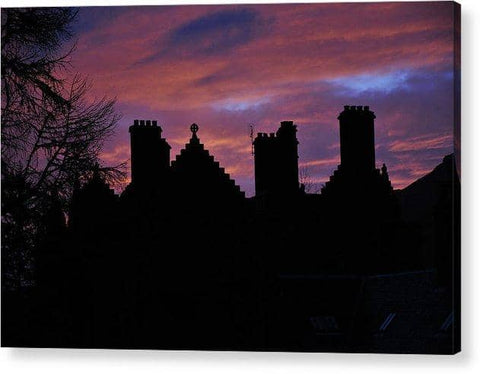 Sunset at the Castle - Acrylic Print