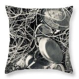 Tangled Trays - Throw Pillow