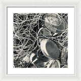 Tangled Trays - Framed Print
