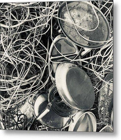 Tangled Trays - Metal Print