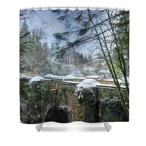 The Bridge and the Castle - Shower Curtain